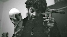 El escritor boliviano Jaime Saenz. Foto de Javier Molina