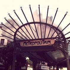 Metropolitain Door.