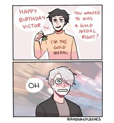 MERRY BIRTHDAY VICTOR!!!! by Randomsplashes on DeviantArt