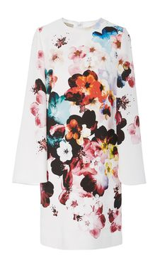 Floral Printed Mini Dress by ELIE SAAB for Preorder on Moda Operandi
