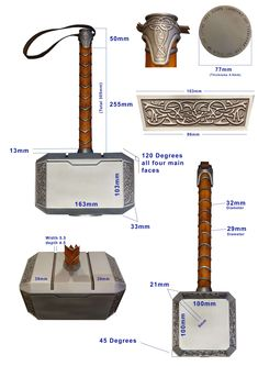 Costumes - Marvel Fan Arts and Memes Cosplay Tutorial, Cosplay Diy, Costume Thor, Armadura Cosplay, Cosplay Weapons, Marvel Cosplay, Lady Thor Cosplay, Thors Hammer, Movie Props