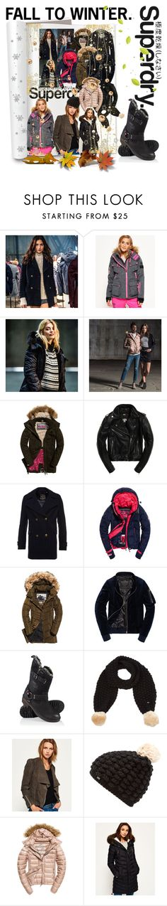 """The Cover Up – Jackets by Superdry: Contest Entry"" by seanahr ❤ liked on Polyvore featuring Superdry and Fuji"