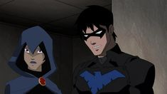 Photo of raven and nightwing for fans of Young Justice.