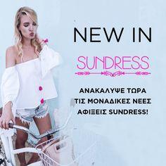 Τα πιο hot φορέματα & tops της σεζόν είναι #Sundress! http://www.koolfly.com/brands/sundress