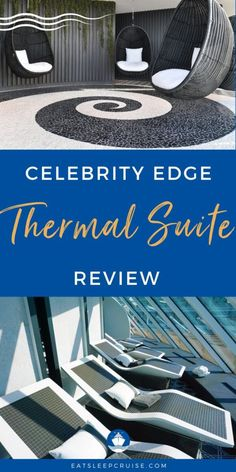 Spend a Day at the Celebrity Edge SEA Thermal Suite - Join us for a day of rest and relaxation in our photo review of the Celebrity Edge SEA Thermal Suite on this innovative new ship. Cruise Checklist, Packing List For Cruise, Cruise Tips, Cruise Travel, Cruise Vacation, Cruise Excursions, Cruise Destinations, Shore Excursions, Celebrity Cruise Ships