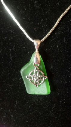 Hey, I found this really awesome Etsy listing at https://www.etsy.com/listing/119335687/irish-green-sea-glass-with-celtic-charm