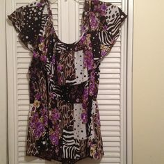 Off the shoulder blouse Beautiful design with colors shirt Tops Blouses