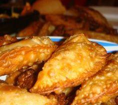 Empanadas de queso, frito