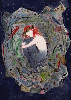imogenrockley:  Morveren from the Mermaid of Zennor