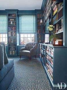 25 Stunning Home Libraries That Are a Book Lover's Dream | Architectural Digest  Bay Area Blogger -  Inspiration. Insights. Insights.  www.suesblues.com