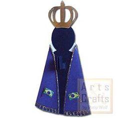 Nossa Senhora da Aparecida. Projeto de corte no formato GSD, à venda nos sites: http://www.artscrafts.com.br/ e http://www.cortecrie.com.br/