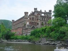 Bannerman Castle in the Hudson Valley NY  Took a canoe ride from Cornwall over to this island.  Loved the castle, but the canoe ride was crazy