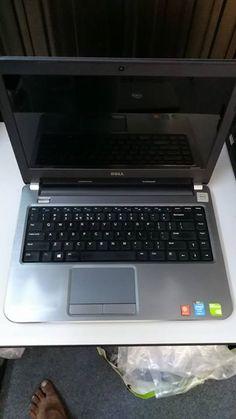 """၄သိန္း၃ေသာင္းထဲနဲ႕ေရာင္းေပးပါမယ္ Dell laptop Core i5 4th generations အျမင့္ လပ္ေတာ့ေလးပါ Nvidia Geforce GT 740M 2GB graphics  ပါဝင္ပါတယ္ Auto Cad, Photoshop, Dota 2 နဲ႔တျခားဂိမ္းေတြေကာင္းေကာင္းအသံုးျပဳလို႔ရပါတယ္  Dell inspiron 14-5437 Core i5 4th generations -4200U@ 1.6GHz* RAM 4GB  HDD 500GB Intel HD Graphics 4400 Nvidia Geforce GT 740M  graphics 2GB With memory share 4GB graphics DvD rw,Wi Fi,Web Cam,HDMI,USB 3.0, 14"""" HD LED display (1366x768) Battery 3 hours  Price-430000 kyats…"""