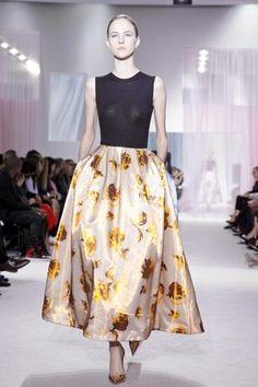 A volta do New Look: Christian Dior . verão 2013 | Chic - Gloria Kalil: Moda, Beleza, Cultura e Comportamento