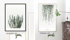 New Arrivals: Urban Botanics Art Prints