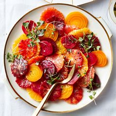 Side Dish Recipes 211106301268770726 - Beets and Oranges Are Ridiculously Pretty—and Even More Ridiculously Tasty. Try to use as many varieties of beets and oranges as you can find to make the most colorful dish. Source by matxi Beet Recipes, Healthy Soup Recipes, Healthy Cooking, Vegetarian Recipes, Healthy Eating, Cooking Recipes, Orange Recipes Healthy, Dishes Recipes, Smoothie Recipes