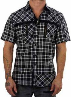 Black Hearts Brigade Gunmetal Shirt $67.98 at www.flyclothing.com