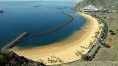 Diez excelentes playas urbanas de España Teresitas. Tenerife