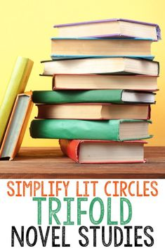 What is a trifold novel study and how can it help simplify literature circles for your students? Find out more about how you can use this simple foldable format to really dig deep into vocabulary, reading comprehension skills and strategies during your bo Teaching Reading, Teaching Tools, Teaching Ideas, Teaching Literature, Reading Activities, Guided Reading, Learning, Teacher Resources, Reading Lesson Plans