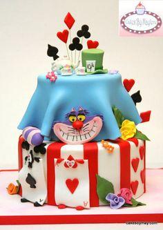 cake alice in wonderland on pinterest alice in wonderland cakes