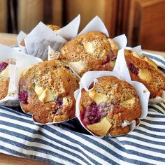 recipe: bisquick white chocolate raspberry muffins [32]