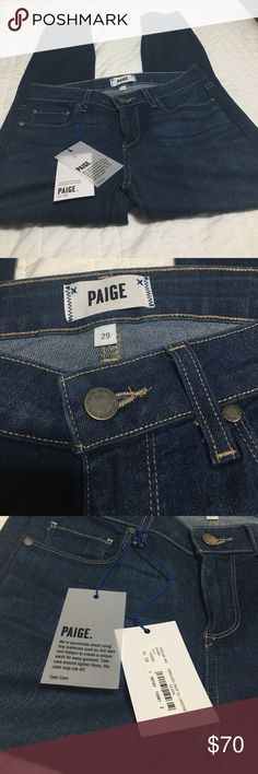Paige Verdugo Crop Jeans - New with Tags! Paige Verdugo Crop Jeans - New with Tags! I love these, but apparently I love pizza more 🍕😩 Paid almost $200, my loss is your gain! Paige Jeans Jeans Ankle & Cropped