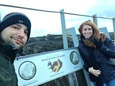 Iceland Bridge Between two Continents - whatthegirlssay.com