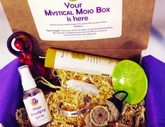 Mystical Mojo Box | A premier monthly subscription box intuitively designed to invoke Soul Transformation by providing items that spark Positive Energy and Soulful Insights!