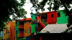 El barrio de colores, La Boca