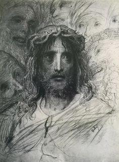 Jesus - Gustave Dore- WikiPaintings.org