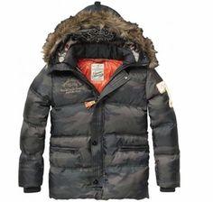 Scotch & Soda Shrunk Boys Down Jacket with Detachable Inner Hood