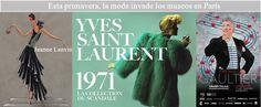 Esta primavera, la moda invade los museos en París http://paris-infinito.com/?p=1528