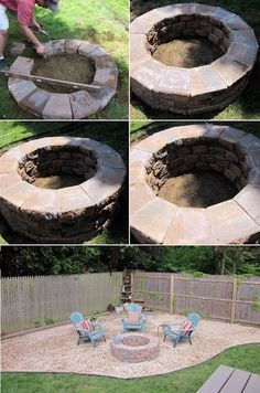 101 Gardening: How to build a simple fire pit