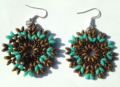 ApeVale Handmade: Earrings Superduo