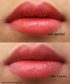 Colorbar Velvet Matte Lipstick Peach Crush Review and Swatches