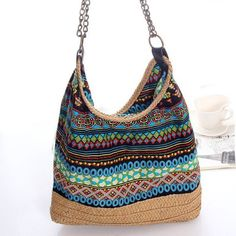 GET $50 NOW | Bohemian Straw Chains Printed Shoudler BagFor Fashion Lovers only:80,000+ Items • New Arrivals Daily • FREE SHIPPING Affordable Casual to Chic for Every Occasion Join RoseGal: Get YOUR $50 NOW!http://www.rosegal.com/shoulder-bags/bohemian-straw-chains-printed-shoudler-766309.html?seid=6887923rg766309