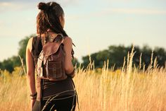 ZUINA | Dark Brown Leather Backpack, Womens Rucksack, Shoulder Bag, Travel Bag, Boho Bag, Satchel, Hippie Bag, Leather Bag, Accessories by MotherEarthTreasure on Etsy https://www.etsy.com/uk/listing/291982119/zuina-dark-brown-leather-backpack-womens