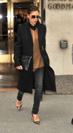 """Fall...Victoria Beckham's version is so """" fresh""""...***<3 the subtle hues & those shoes...details!!!"""