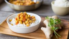 This classic Indian favorite is easy to make, and the leftovers are ideal for lunches throughout the week.