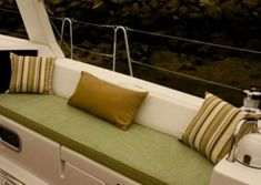View Our Best Boat Bedding Package Examples & Fabric Choices Boat Bed, Duvet, Bedding, Best Boats, Bed Mattress, Choices, Photo Galleries, Couch, Fabric