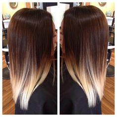 beautiful balayage ombre! #ombre #balayage #colormelt