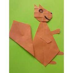 Mabon, Squirrel, Origami, Preschool, Collage, Diy Crafts, Fall, Circuit, Autumn