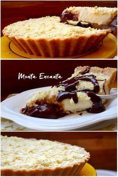 Como Fazer Torta Mousse de Leite Ninho com Nutella Mesmo que esta torta não fosse tão boa, valeria a pena fazer só pelo nome gostoso que ela tem. TORTA MOUSSE DE LEITE NINHO COM NUTELLA E RASPAS DE CHOCOLATE LAKA, dá água na boca só de dizer! E não poderia ser mais simples de fazer. A massa é prática de biscoito, massa crocante de geladeira, sem forno. A mousse de Leite Ninho, é  de liquidificador, junta os ingredientes bate e tá pronta. E é só isso...