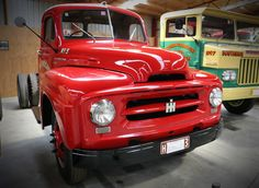 1955 International AR truck in Bill Richardson Transport World. For more info visit transportworld. Bill Richardson, Vintage Trucks, Jeep, Transportation, Jeeps
