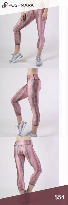 34e46b8a75 Selling this Aiyana Blush Capri Legging on Poshmark! My username is  Hsu  Designs