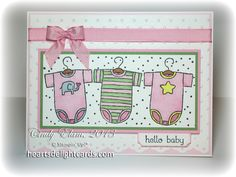 Heart's Delight Cards: The Perfect Baby Card