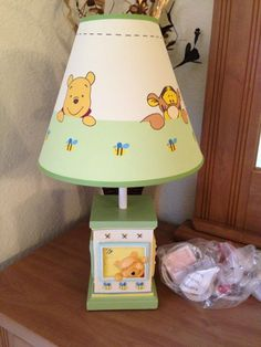 Disney Winnie the Pooh Piglet Tigger Lamp Shade (10 Sizes to ...