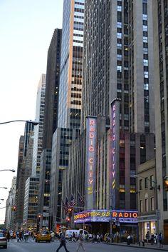 Radio City Music Hall, New York, Nova Iorque, NYC, Manhattan, USA, EUA