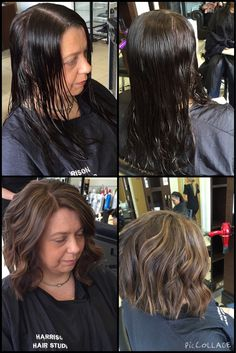 #Restyle #ColourChange #Roots & #HighLights to give texture, wear it curly or straight! #hhsliverpool #Liverpool #hairdressers #hairsalon #hairstyle www.harrisonhairstudio.co.uk 0151 380 0181