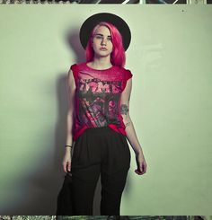 Red bleached tshirt  vintage inspired horror comic book cover DIP dye tee on Etsy, $21.31
